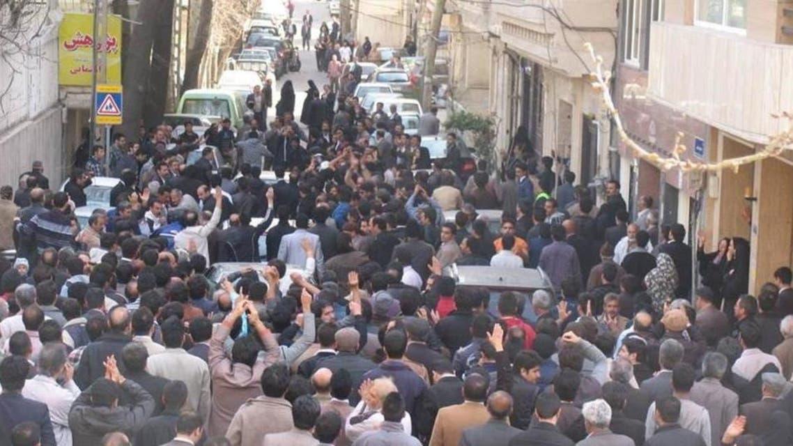 Soufi Protesters in Iran