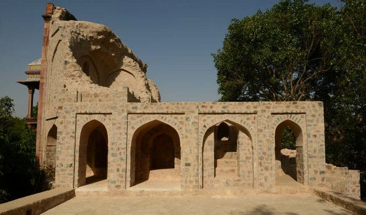 The Aga Khan Trust for Culture (AKTC) has restored this Arab Ki Sarai to its pristine glory. (Supplied)