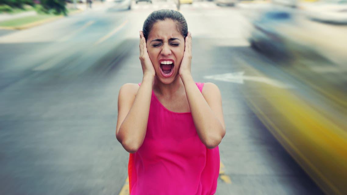 iStock traffic noise ضوضاء المرور