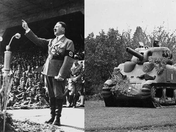 بدبابات مطاطية خدع الحلفاء هتلر