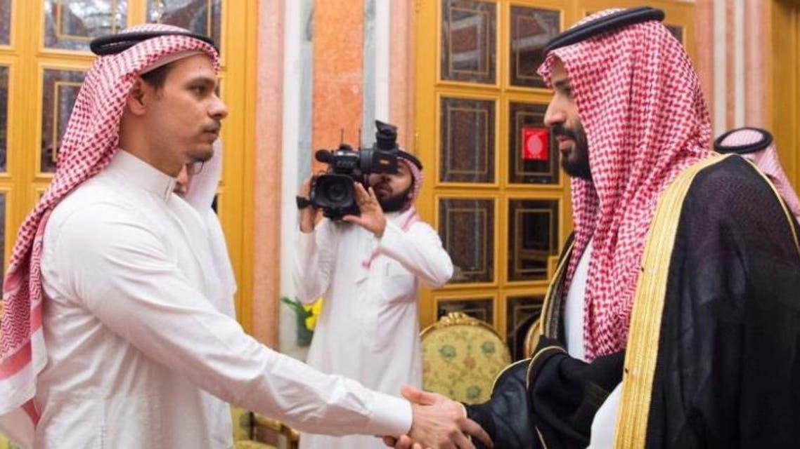saudi crown prince with salah khashoggi