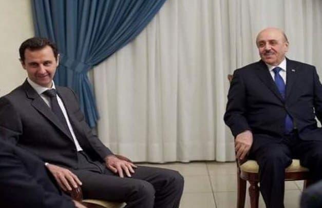 علي مملوك وبشار الأسد