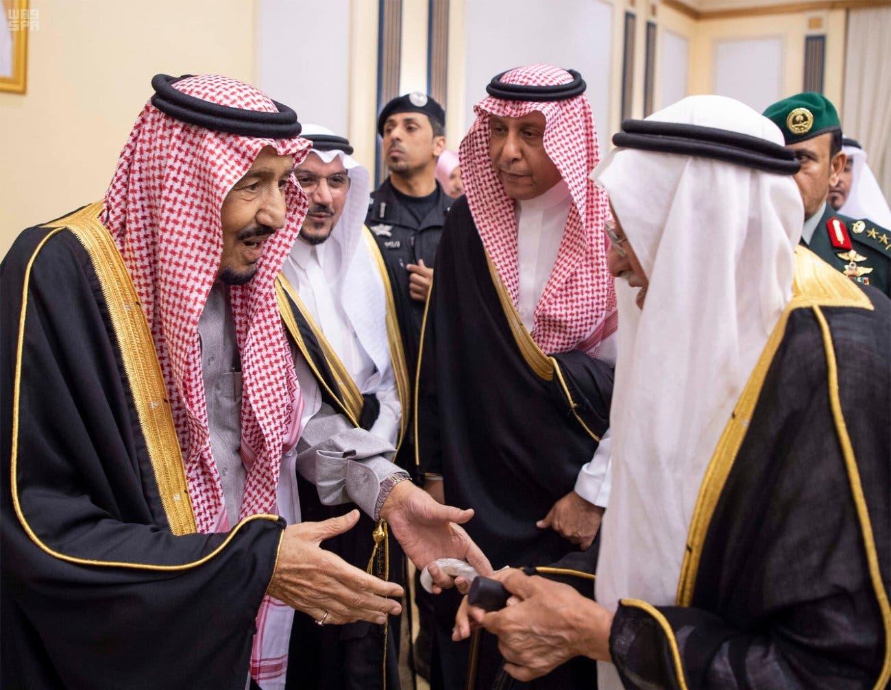 Saudi King Salman visits Qassim 1