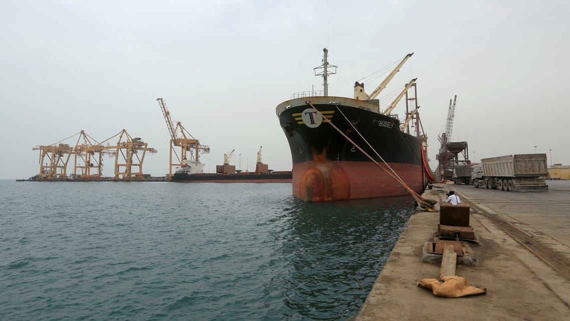ميناء الحديدة اليمن