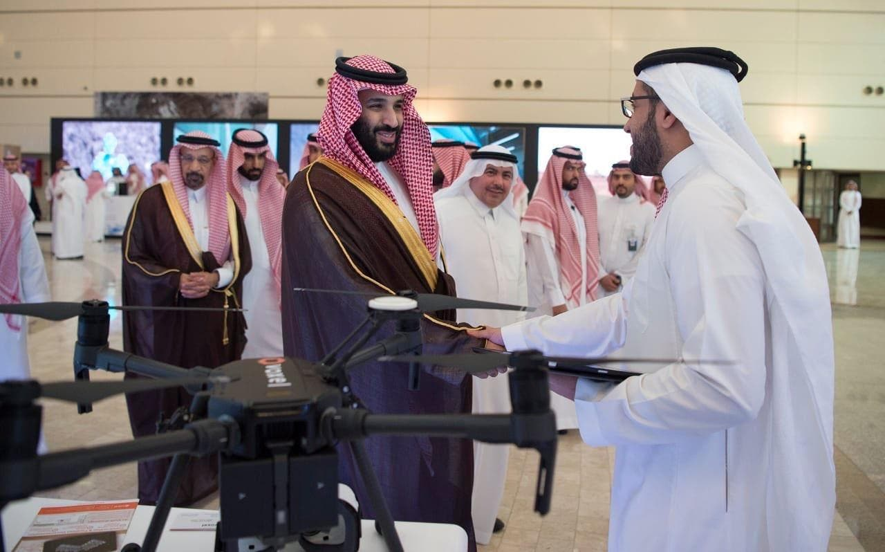 The Saudi crown prince at KACST 2