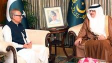 صدر کا پاکستان اور سعودی عرب کے درمیان کاروباری وفود کے مزید تبادلوں کی ضرورت پر زور