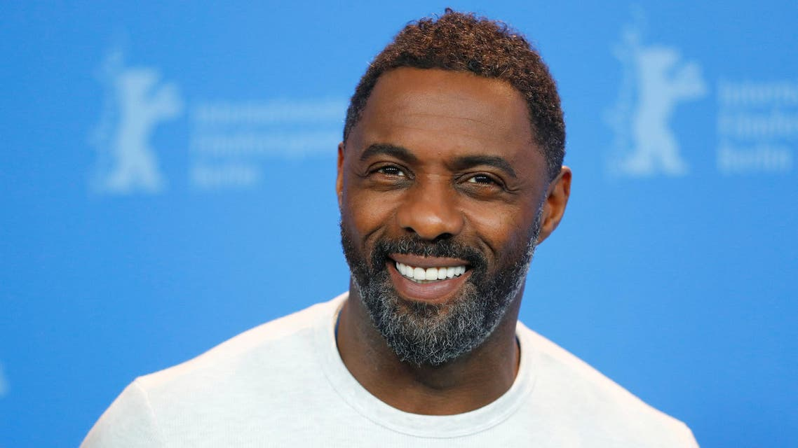 Idris Elba poses during a photocall to promote the movie Yardie at the 68th Berlinale International Film Festival in Berlin on February 22, 2018. (Reuters)