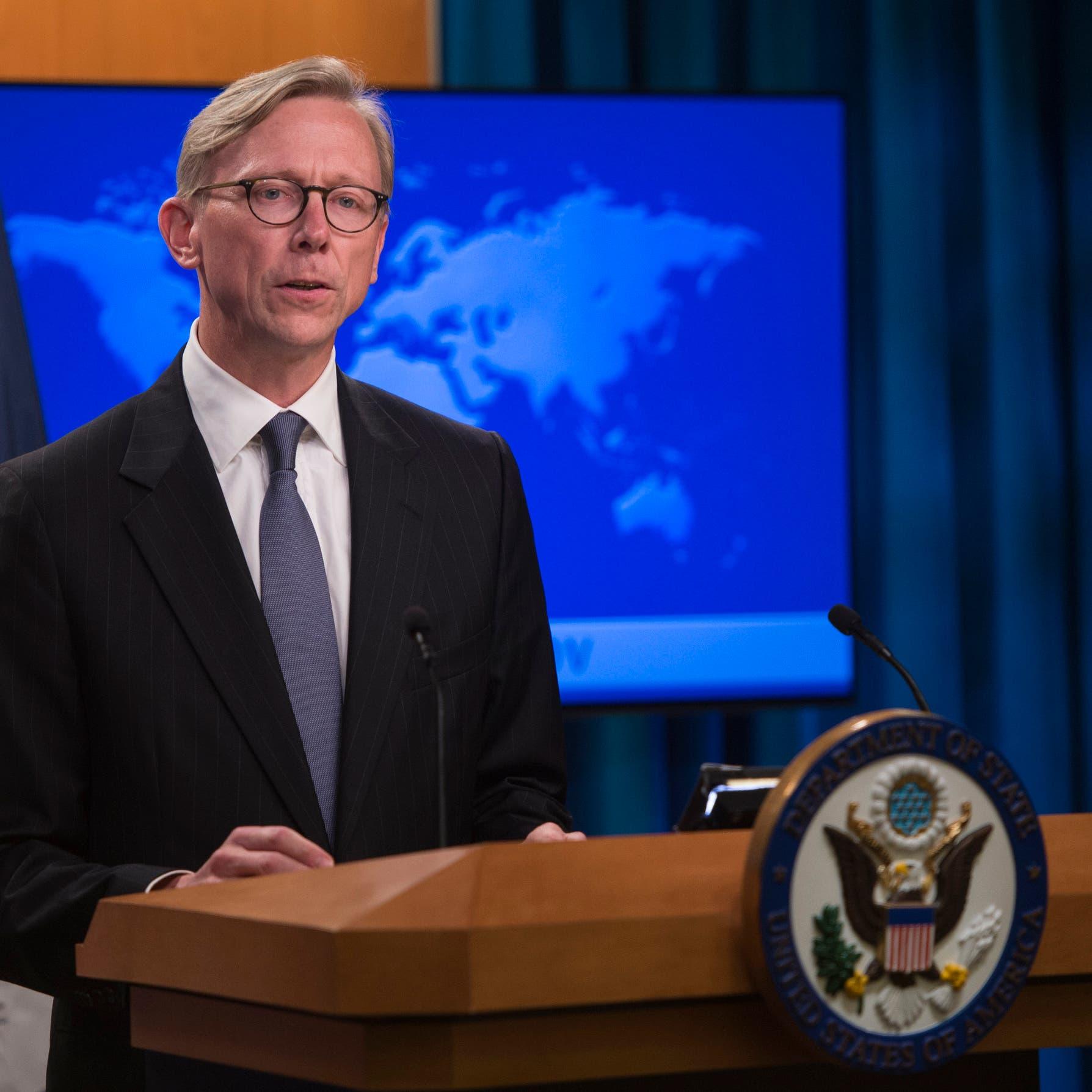 هوك: واشنطن تريد التفاوض على اتفاق جديد مع إيران