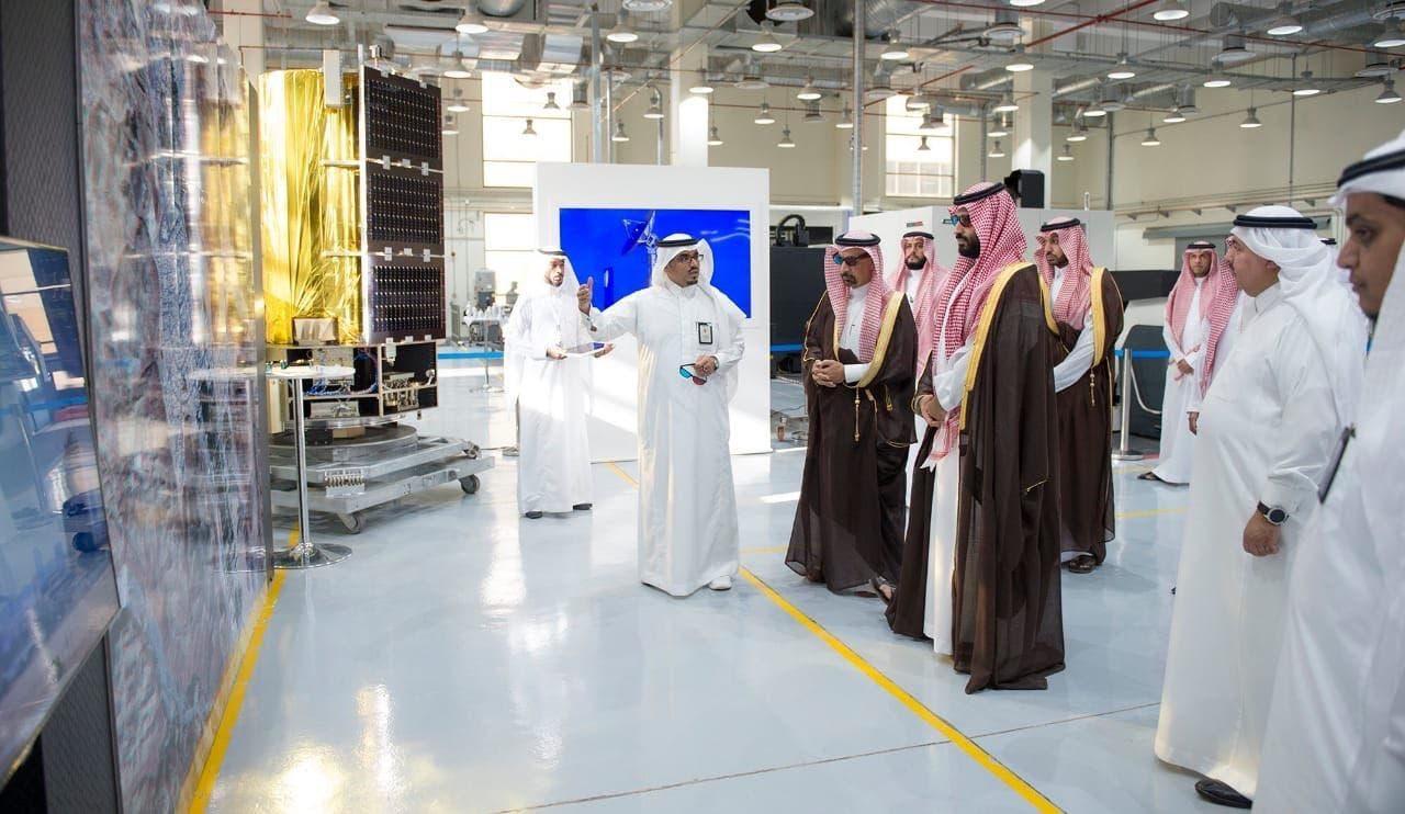 The Saudi crown prince at KACST 1
