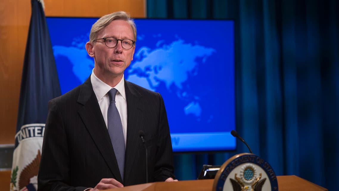 بريان هوك مبعوث ترمب حول إيران