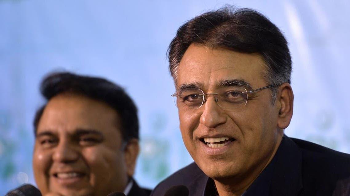 Asad Umar had announced last month that Pakistan would seek an IMF funding package, its 13th since the late 1980s. (AFP)