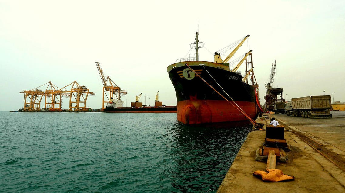 Hodeidah, Yemen's biggest Red Sea port and the only one under Houthi control, serves as the lifeline for the majority of Yemen's population. (File photo: Reuters)