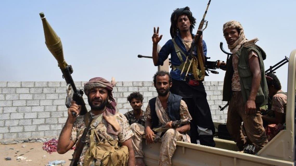 عناصر من الجيش اليمني في الحديدة
