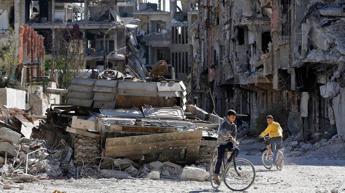 Syria's Yarmouk palestinian refugee camp (AFP)