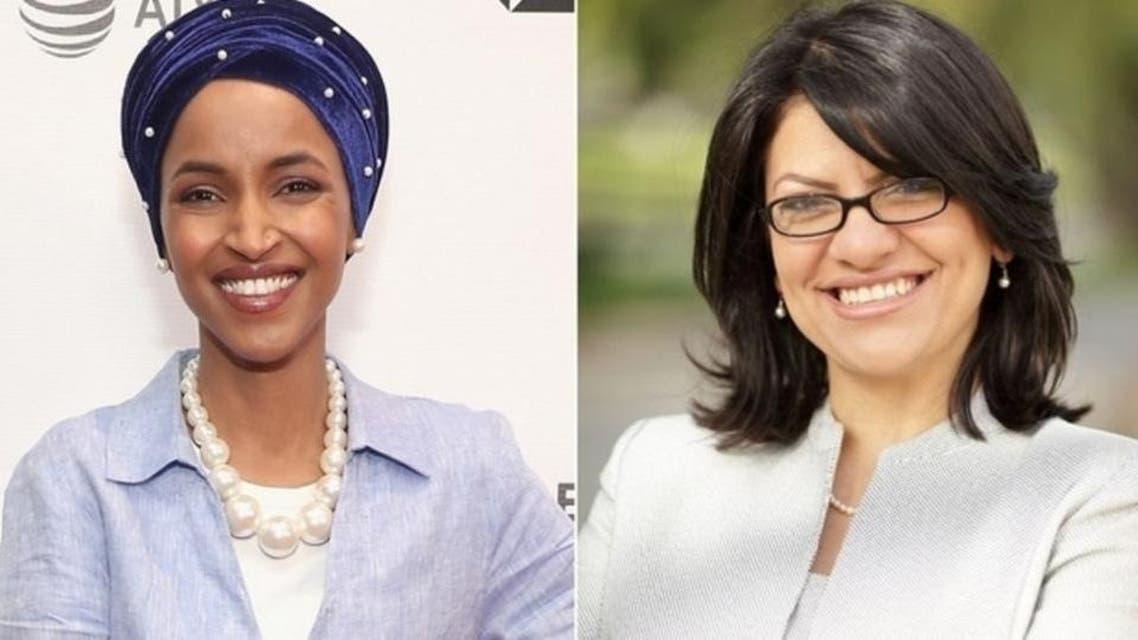 رشیده طلیب و الهام عمر، دو زن مسلمان راه یافته به کنگره آمریکا
