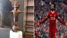 مصری فٹ بالر کے مجسمے پر سوشل میڈیا پرگرما گرم بحث