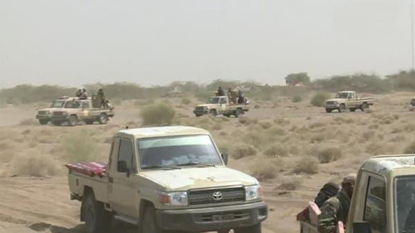 قوات من الجيش اليمني أثناء اقتحامها مدينة الحديدة