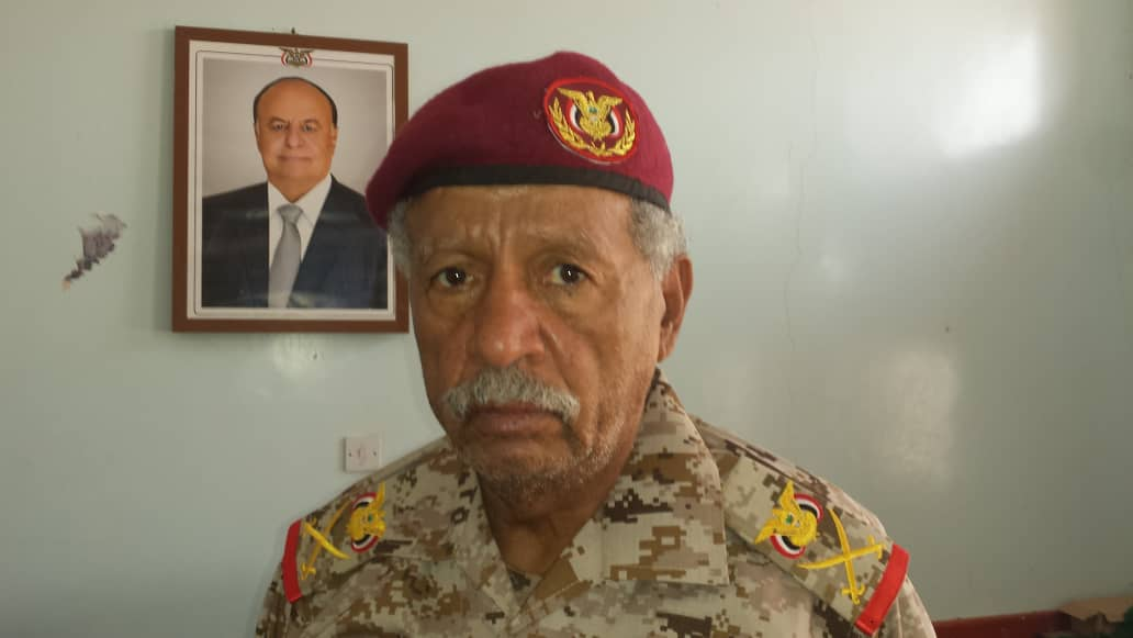 Colonel Mefreh Buhaibeh of the Yemeni Army. (Supplied)