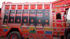 VIDEO: Pakistan's truck art blends color with folk traditions