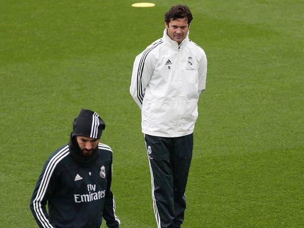 بنزيمة يدعم سولاري للاحتفاظ بوظيفته في ريال مدريد