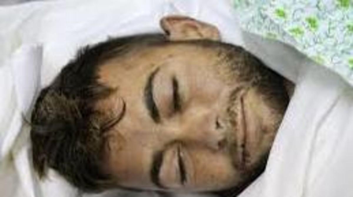 وفاة الفلسطيني أحمد خالد النجار