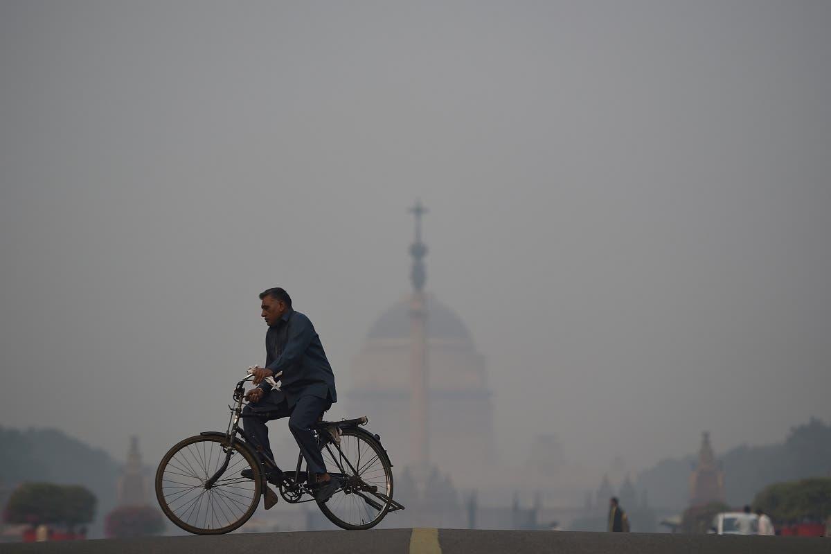 Diwali air pollution india. (AFP)