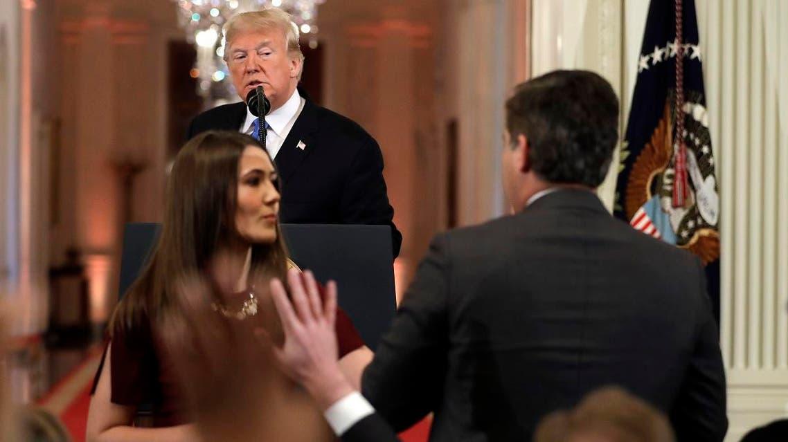 Trump CNN (AP)