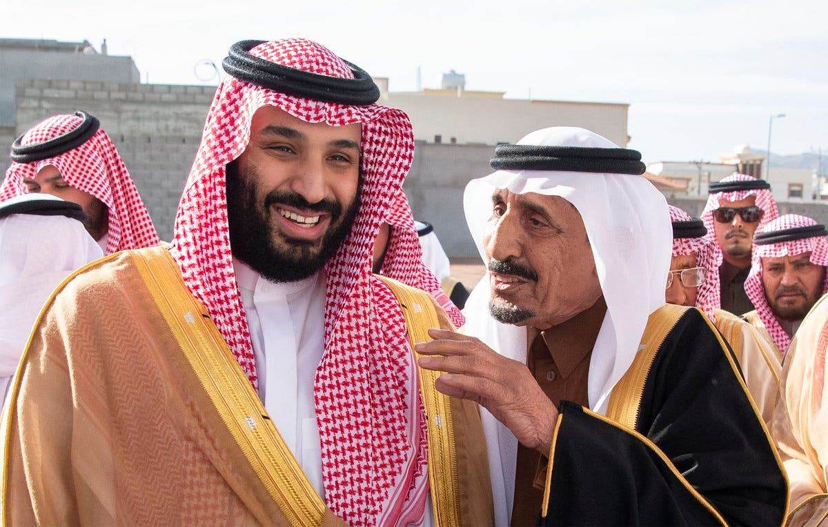 IN PICTURES: Saudi Crown prince meets with residents of Ha'il