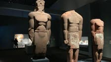 IN PICTURES: Ancient Saudi Arabian statues find new home in Abu Dhabi's Louvre