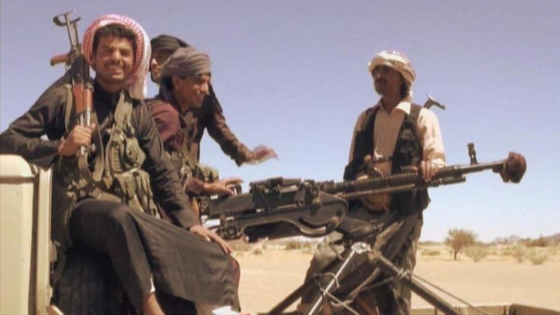File photo of Houthi militia. (Supplied)