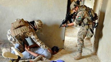 """شاهد تدريبات بحرية وجوية وقتالية في """"درع العرب"""""""
