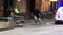 Homeless 'Trolley Man' who helped thwart Australia attack charged with burglary