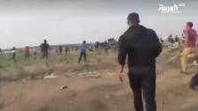 WATCH: Qatari ambassador's convoy in Gaza being stoned