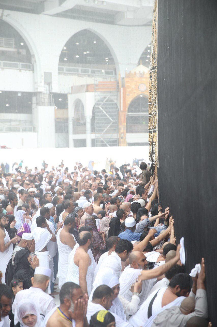 heavy rains in mecca (supplied)
