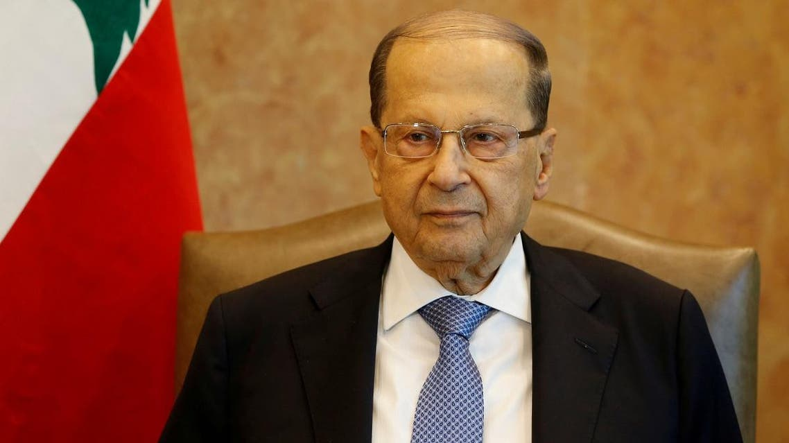 Lebanon president Michel Aoun (Reuters)