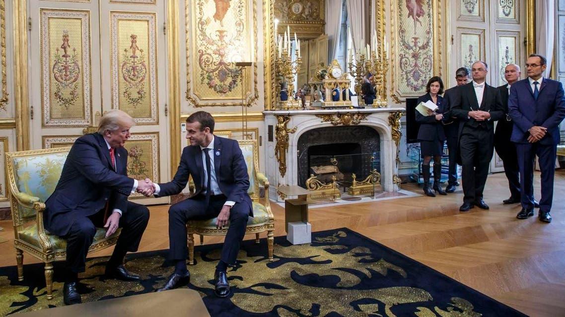 trump macron (AFP)