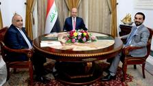 العراق.. الرؤساء الثلاثة يبحثون إكمال التشكيلة الوزارية