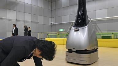"""روبوت يحرس أمن محطات القطار خلال ألعاب """"طوكيو 2020"""""""