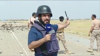 شاهد سيطرة الجيش اليمني على مثلث عاهم