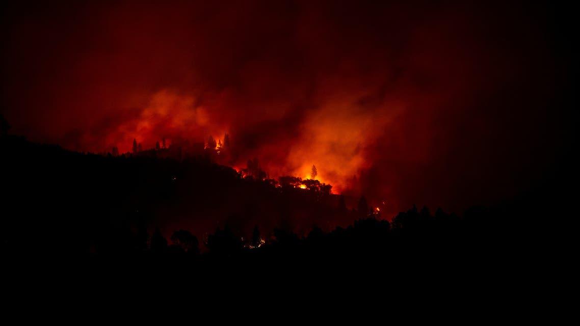 حرائق غابات كاليفورنيا