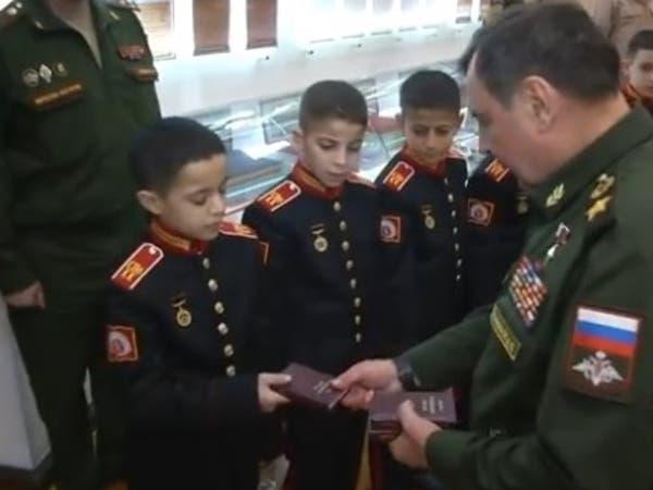 """عسكريون سوريون يخضعون لامتحان """"روسي"""""""