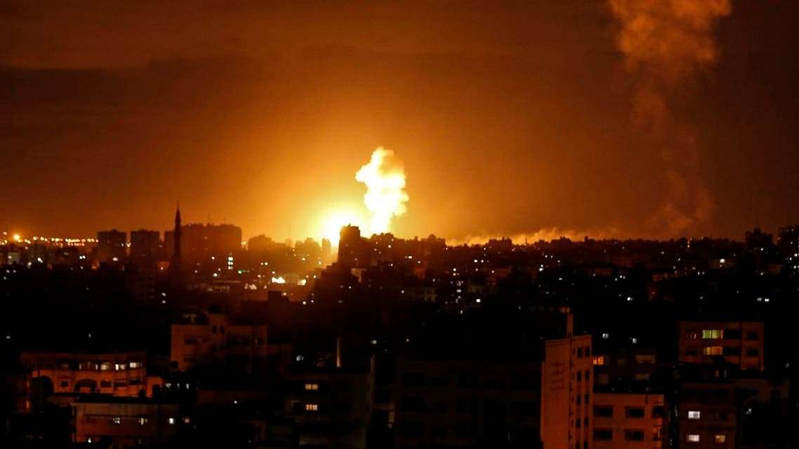 israeli air raid in gaza (AFP)