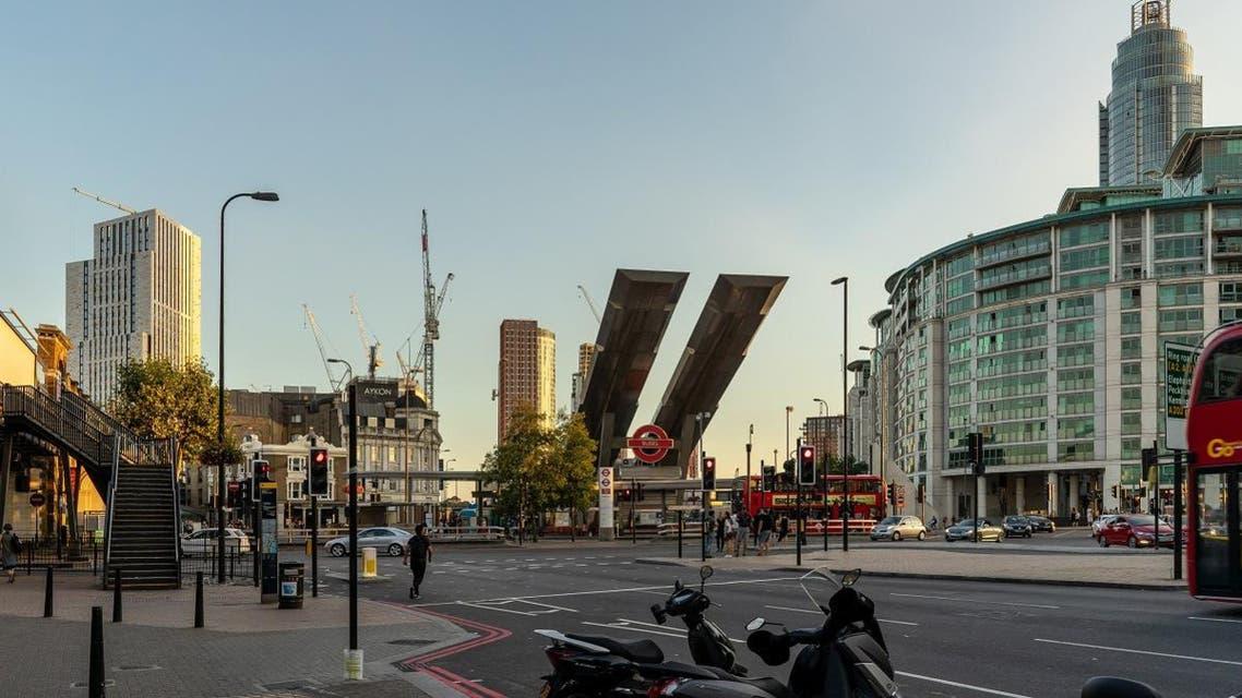 Neighborhood district of Vauxhall in London, UK. (Shutterstock)