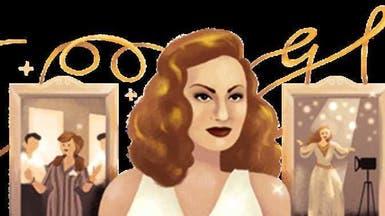 غوغل يحتفل بالذكرى 87 لميلاد الفنانة المصرية هند رستم
