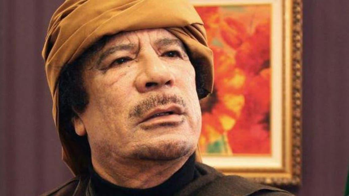 Gaddafi. (AFP)