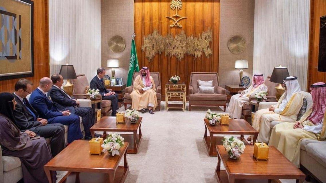 Saudi Crown Prince meets British special envoy Simon McDonald