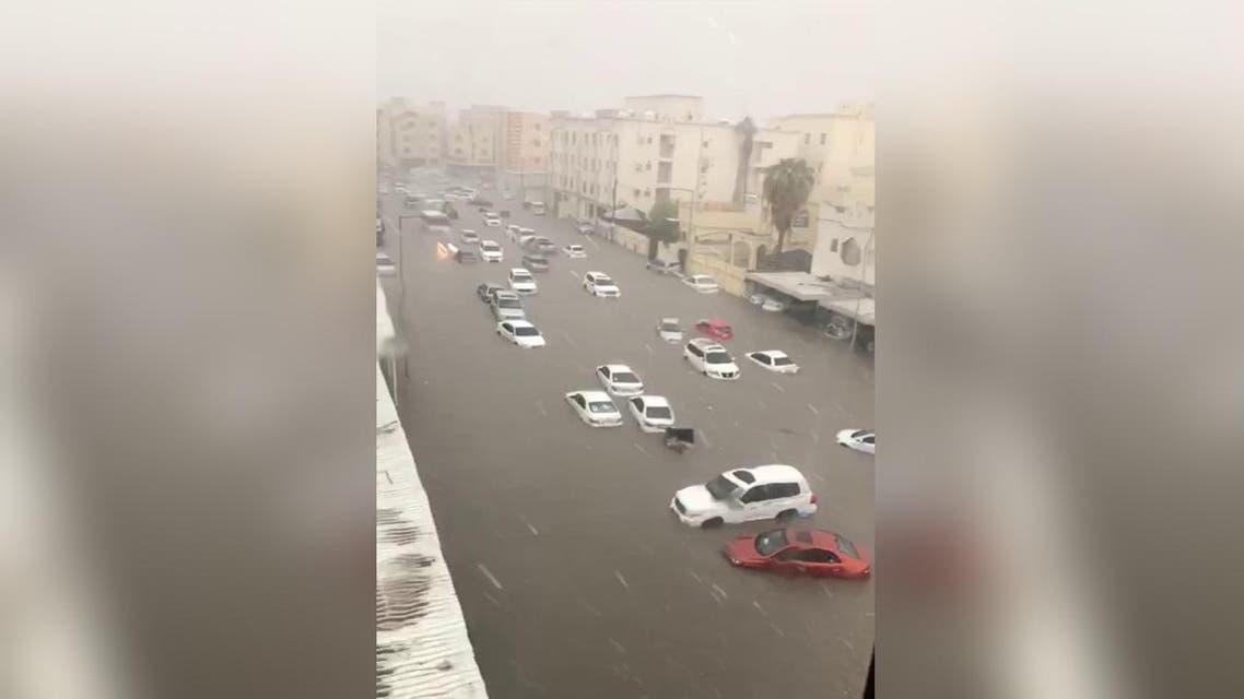 qatar floodings
