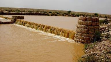 كيف يتم تصريف المطر بعقلية الأجداد بهذه القرية السعودية