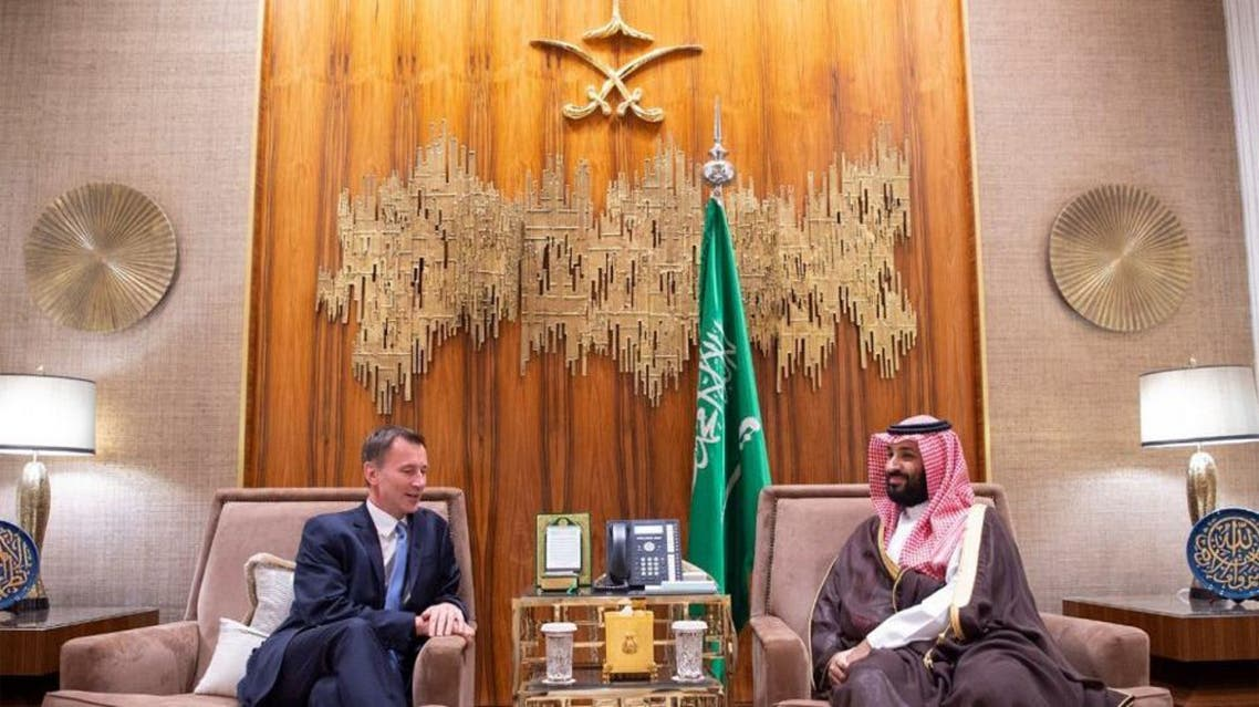 During the meeting, they reviewed Saudi-British partnership in all fields, the latest developments in the region and the exerted efforts towards them. (SPA)