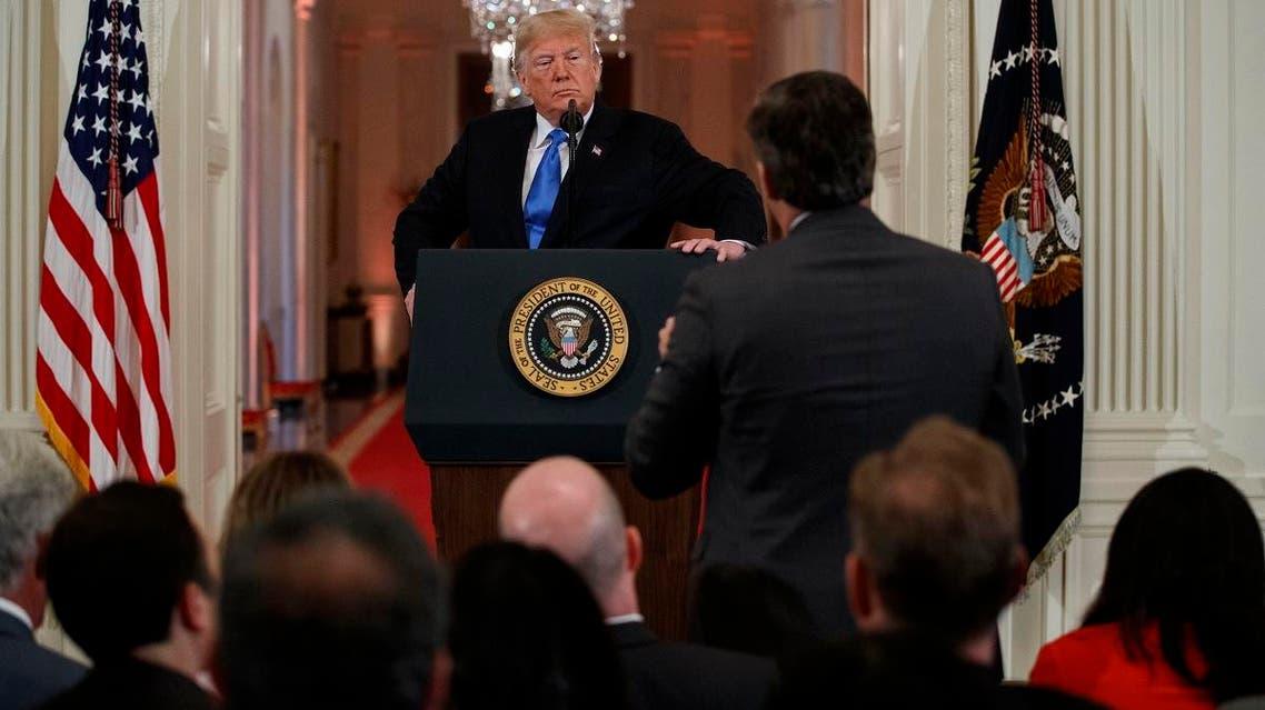 CNN Jim Acosta Trump White House (AP)